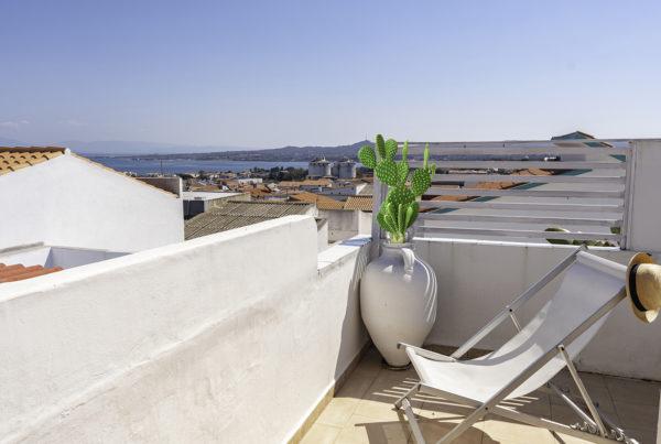 terrace ca de anna calasetta house to rent sardinia